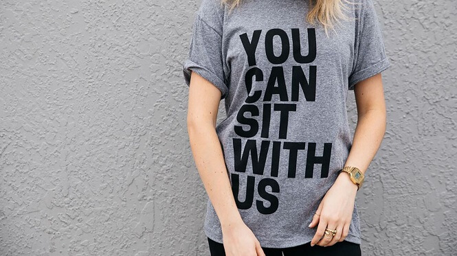 Select Your Fonts t-shirt